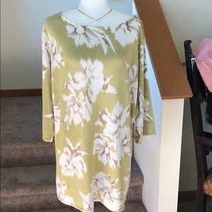 Jones Spring day tunic. Really nice shirt